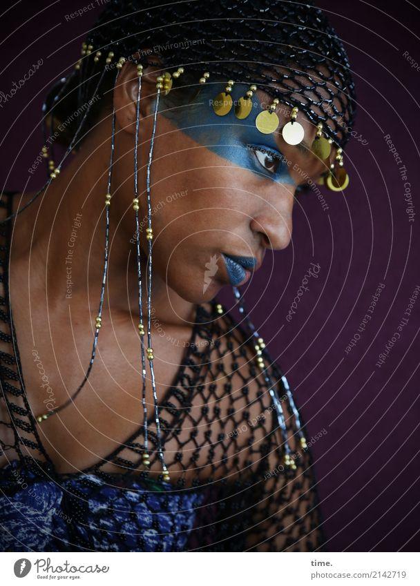 . Mensch Frau schön Erwachsene feminin Stil Kunst außergewöhnlich elegant ästhetisch Kreativität Idee beobachten Wandel & Veränderung Coolness trendy