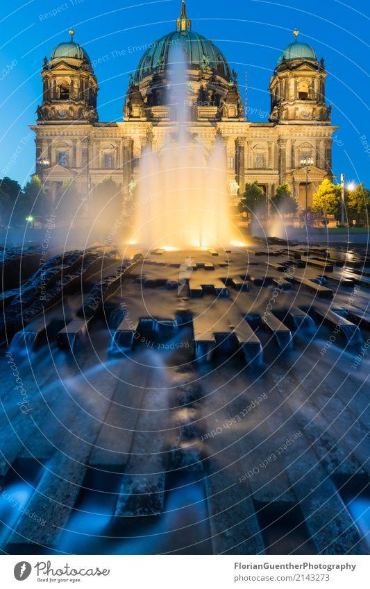 Sommernächste am Berliner Dom Stil Ferien & Urlaub & Reisen Tourismus Abenteuer Berlin-Mitte Deutschland Europa Hauptstadt Kirche Gebäude Architektur