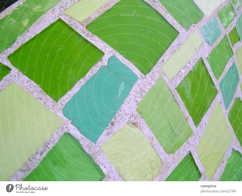 Limonengrün Häusliches Leben Fliesen u. Kacheln Glas Strukturen & Formen