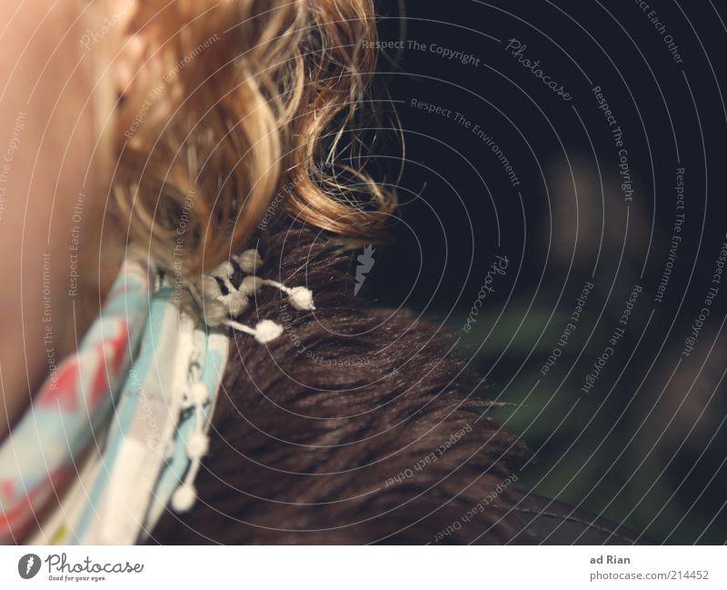 lockig I Mensch schön Erwachsene feminin Haare & Frisuren Mode blond elegant Haut warten Fell 18-30 Jahre nah Locken trendy Begierde