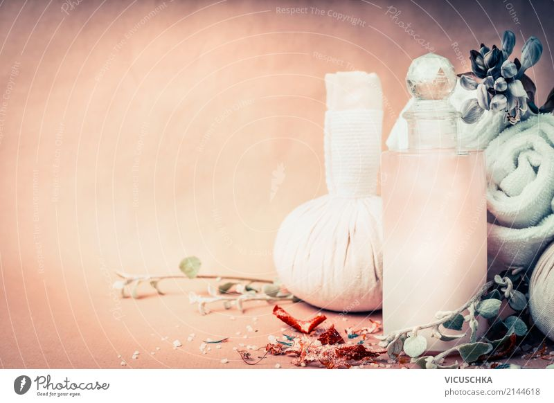 Spa, Wellness oder Massagen Hintergrund Lifestyle Stil Design schön Körperpflege Kosmetik Erholung Kur Wohnzimmer Natur Hintergrundbild Kosmetiksalon Blume