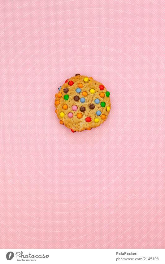 #AS# Cookie Bunt Gesunde Ernährung Speise Foodfotografie Essen Kunst rosa ästhetisch Kindheit Pause lecker Backwaren Keks selbstgemacht Snack ungesund Kalorie