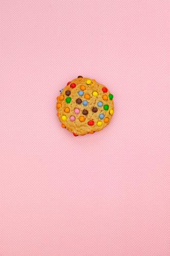 #AS# Cookie Bunt Kunst ästhetisch Essen Foodfotografie Gesunde Ernährung Speise lecker ungesund Backwaren rosa mehrfarbig Snack Snackbar Pause Kindheit