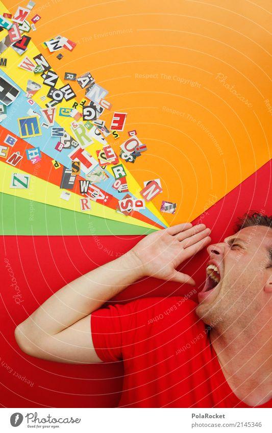 #AS# Schrei Kunst Kunstwerk ästhetisch Telekommunikation sprechen Kommunizieren Kommunikationsmittel schreien Werbung Werbebranche Kreativität durchdrehen