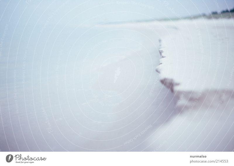 weisses Seerauschen Freizeit & Hobby Sommer Strand Meer Wellen Natur Landschaft Sand Wasser Klimawandel Schönes Wetter Küste Ostsee Bewegung ästhetisch Ferne
