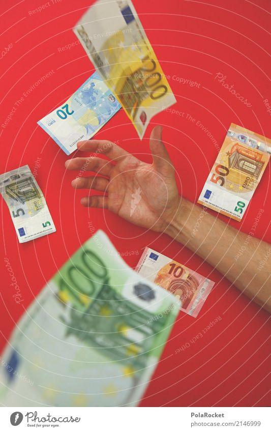 #AS# It's Raining Geld Kunst ästhetisch Geldinstitut Geldscheine Geldgeschenk Geldnot Geldkapital Geldgeber Geldschrankknacker Geldverkehr Euro rot Erfolg