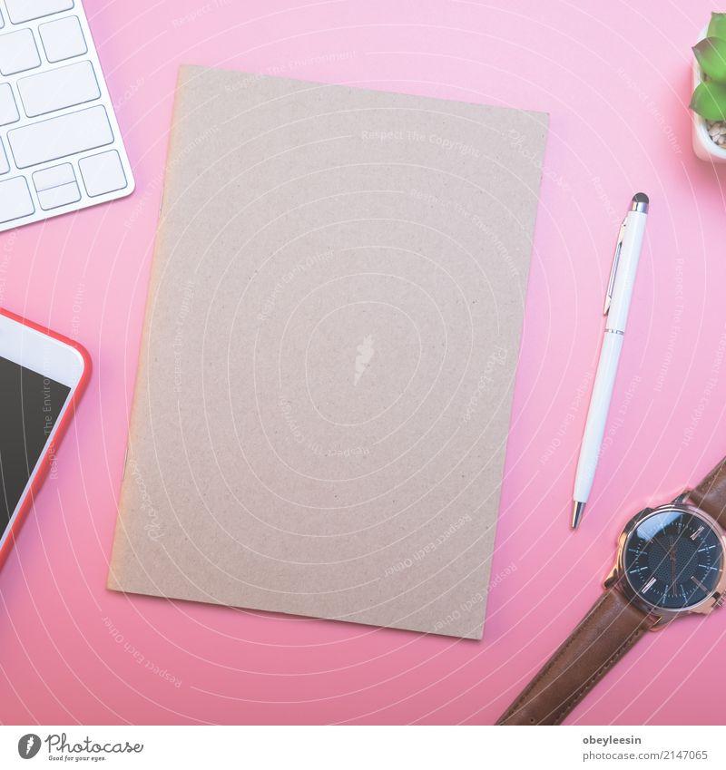 Auf der Suche nach Richtung und Inspiration Farbe Lifestyle Business Schule rosa Design Arbeit & Erwerbstätigkeit Textfreiraum Büro modern Technik & Technologie