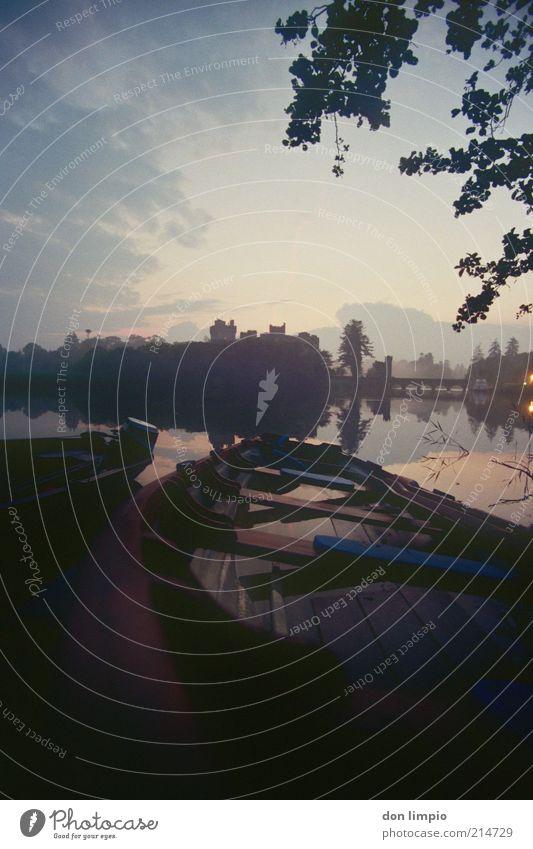 ashford castle Himmel Ferien & Urlaub & Reisen Sommer ruhig Erholung Landschaft Stimmung Wasserfahrzeug Ausflug Insel Fluss Idylle historisch Schönes Wetter