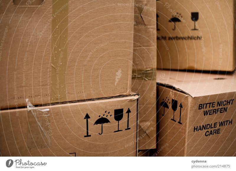 Pack mer's Häusliches Leben Umzug (Wohnungswechsel) Zeichen Schriftzeichen Beginn Erwartung Idee Problemlösung planen Dienstleistungsgewerbe Vergangenheit