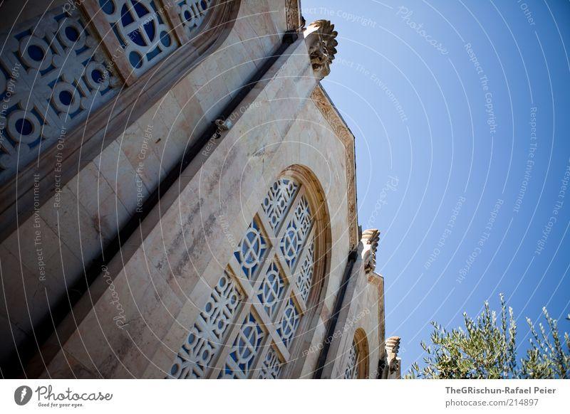 church of all nations Ferien & Urlaub & Reisen Tourismus Ferne Sightseeing Sommerurlaub Kunstwerk Kultur Schönes Wetter Jerusalem Israel heiß blau braun grün