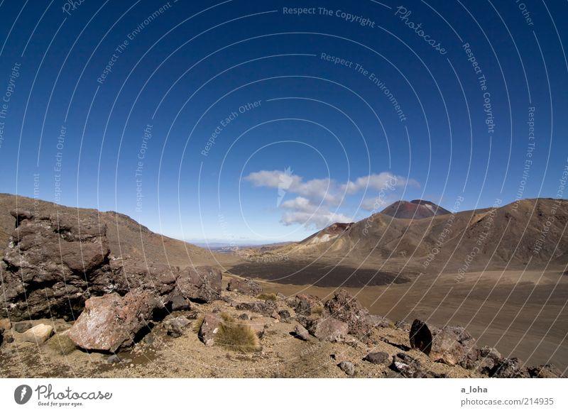 learn to fly Ferne Landschaft Urelemente Himmel Wolken Horizont Schönes Wetter Felsen Berge u. Gebirge Gipfel Vulkan außergewöhnlich Bekanntheit gigantisch hoch