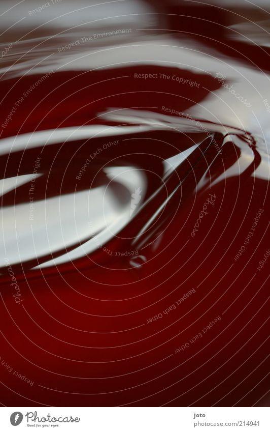 . rot Stil Hintergrundbild glänzend Design modern ästhetisch süß weich Flüssigkeit lecker stagnierend Pudding liquide Ernährung wackelig