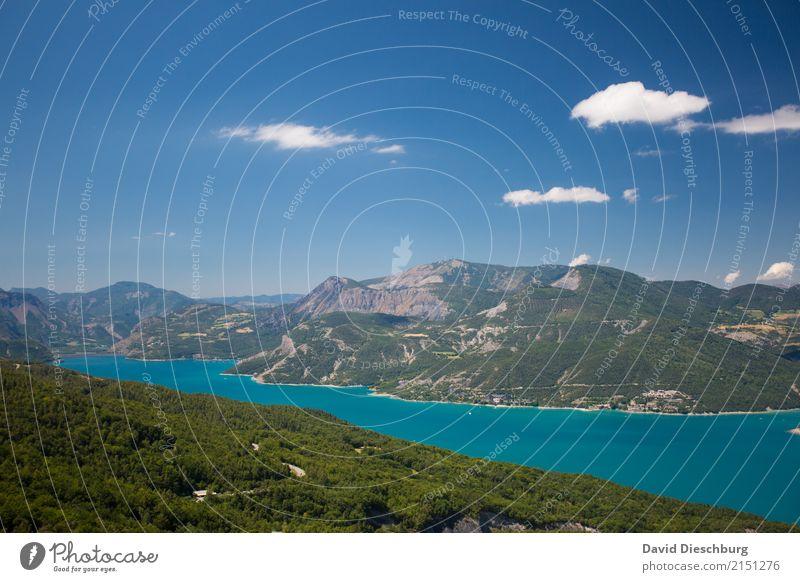 Lac du Bourget Ferien & Urlaub & Reisen Tourismus Ausflug Abenteuer Sightseeing Sommerurlaub Natur Landschaft Himmel Wolken Frühling Schönes Wetter Wärme