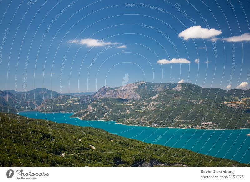 Lac du Bourget Himmel Natur Ferien & Urlaub & Reisen Pflanze Sommer Landschaft Meer Erholung Wolken Berge u. Gebirge Wärme Frühling Küste Tourismus See Felsen