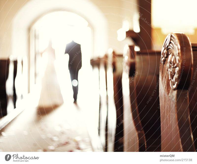 Together. Frau Mann Paar Religion & Glaube Zusammensein Kunst Hochzeit ästhetisch Zukunft Kirche Familie & Verwandtschaft Feste & Feiern Glaube Ehepaar Lichtspiel himmlisch