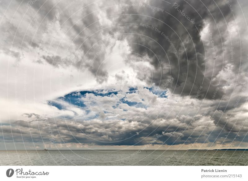 Fear of the dark Umwelt Natur Landschaft Luft Wasser Himmel Wolken Gewitterwolken Klima Klimawandel Wetter schlechtes Wetter Unwetter Wind Sturm Regen Wellen