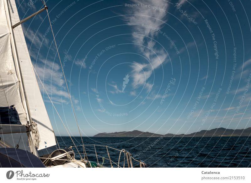 Hinaus Himmel Natur blau Sommer Wasser weiß Landschaft Meer Wolken Berge u. Gebirge Küste Bewegung braun Felsen Luft Erfolg