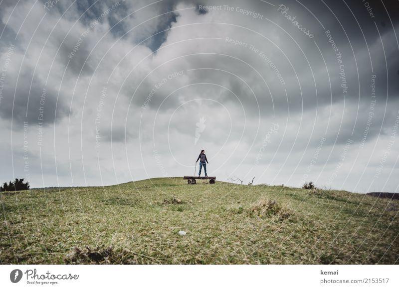 Solivagant Lifestyle Wohlgefühl Zufriedenheit Erholung ruhig Freizeit & Hobby Ausflug Abenteuer Ferne Freiheit wandern Mensch Erwachsene Leben 1 Natur
