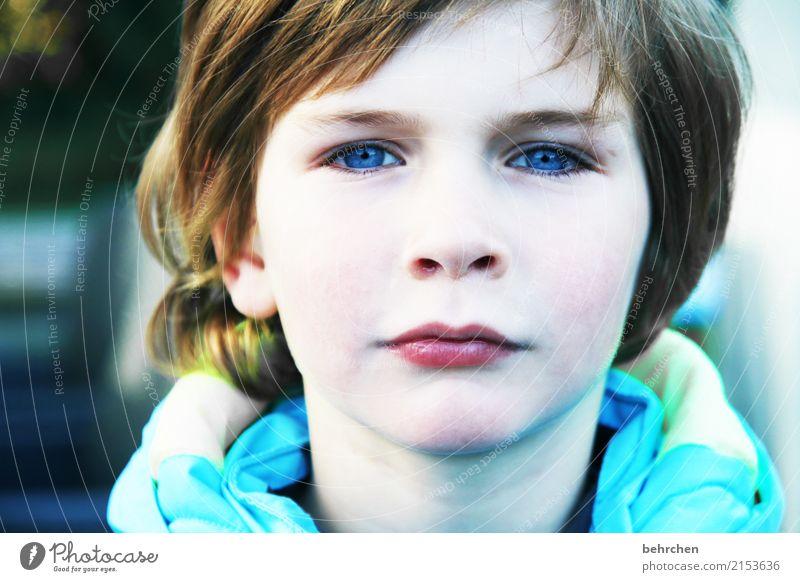 ab heute SCHULKIND Mensch Kind schön Gesicht Auge Liebe Junge Familie & Verwandtschaft Haare & Frisuren Kopf Kindheit Haut Mund Nase beobachten Ohr