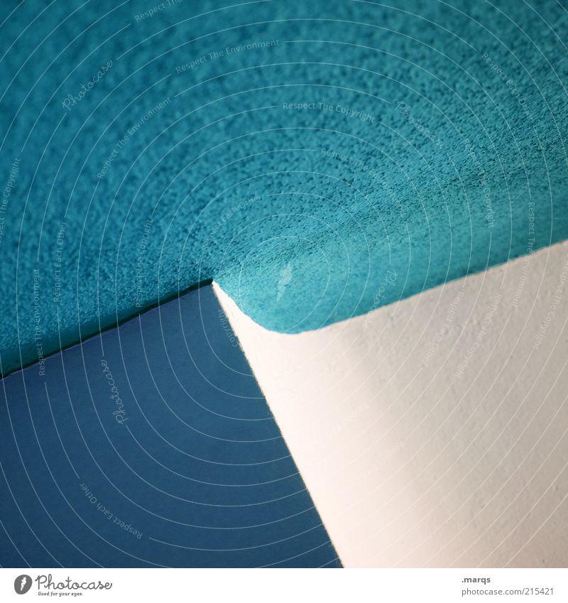 Jump weiß blau Farbe Stil Linie Architektur Design elegant Lifestyle Ordnung ästhetisch Coolness rund einfach Innenarchitektur abstrakt