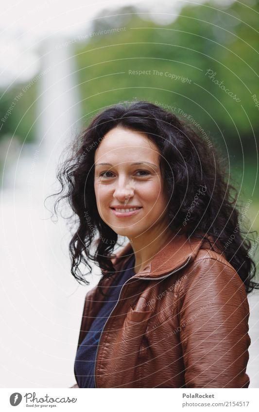 #A# Großer Garten Frau Kunst Freizeit & Hobby ästhetisch Lächeln Beruf Karriere Berufsausbildung Kunstwerk Frauengesicht Freizeitbekleidung