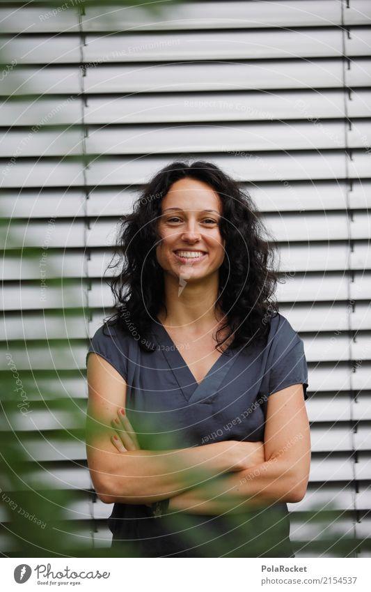 #A# Walk In The Park IX Frau feminin lachen Kunst ästhetisch Lächeln positiv selbstbewußt Frauengesicht