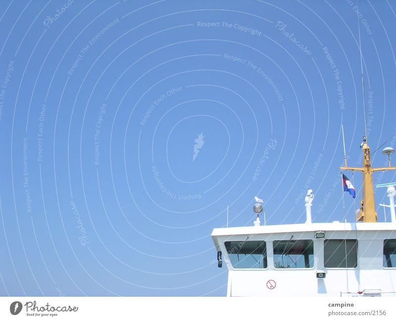 Fähre Himmel Sommer Wasserfahrzeug Insel Schifffahrt Möwe Norderney