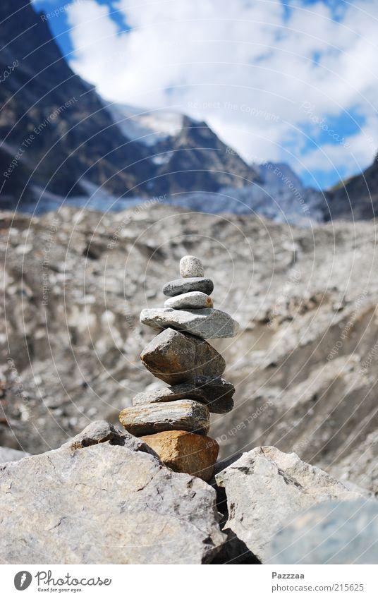 Gebirgstouristenkram Meditation Tourismus Ausflug Ferne Expedition Schnee Klettern Bergsteigen wandern Natur Landschaft Felsen Alpen Berge u. Gebirge