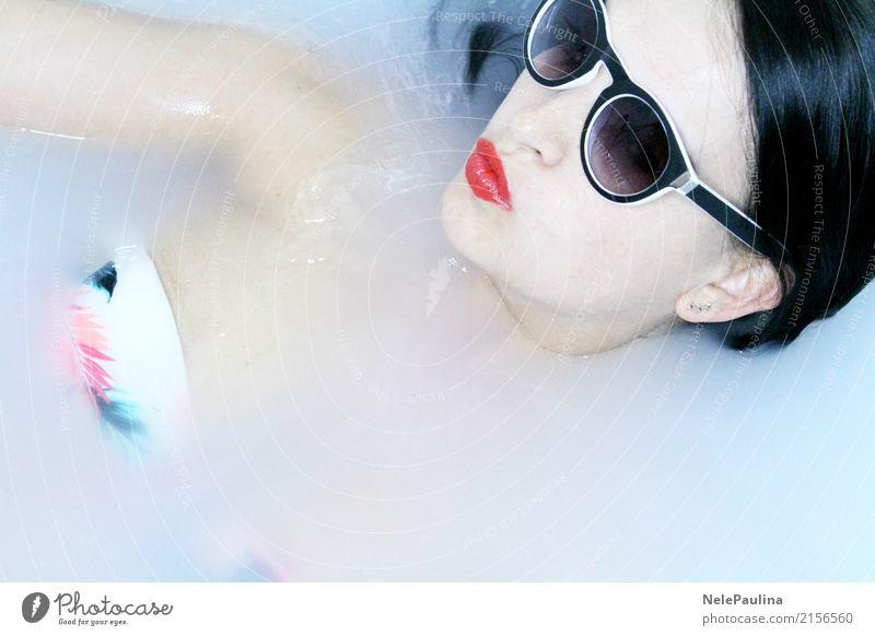 Hawai Girl Mensch Jugendliche Junge Frau schön Erotik Erholung Freude 18-30 Jahre Gesicht Erwachsene Lifestyle Haare & Frisuren Schwimmen & Baden 13-18 Jahre