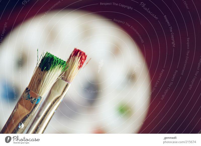 RG ohne B grün rot Farbe Kunst frisch malen Kreativität Pinsel gestalten Farbmittel Acrylfarbe Ölfarbe