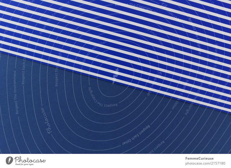 Muster (07) blau Farbe weiß Design Linie Kreativität Papier Geometrie gestreift Karton Schreibwaren Rechteck blau-weiß