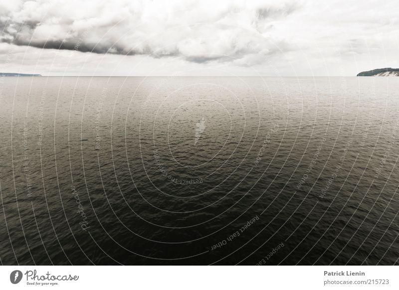 Gentle Hour Umwelt Natur Landschaft Urelemente Luft Wasser Himmel Wolken Gewitterwolken Klima Klimawandel Wetter schlechtes Wetter Wind Sturm Küste Ostsee Meer
