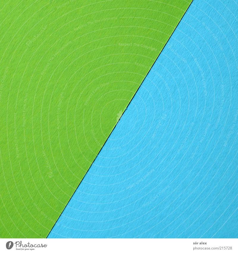 [grün/blau] Karton Farbkarte Farbkarton Papier Bastelpapier Farbe Basteln Dekoration & Verzierung Design Kreativität Kunst Linie Bruchstrich Printmedien