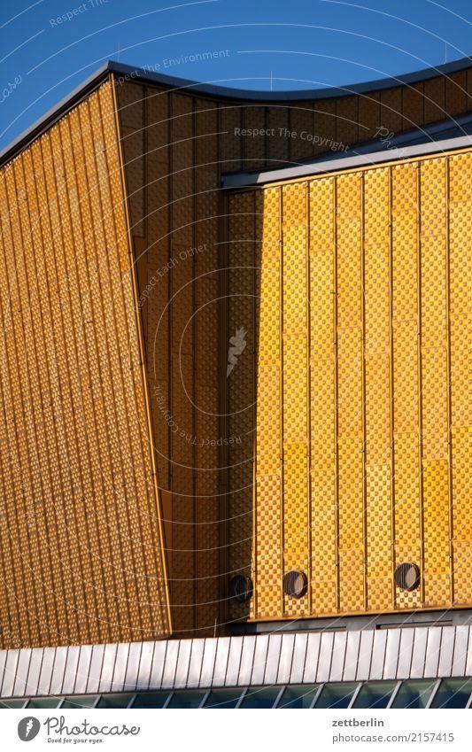 Berliner Philharmonie Architektur avant garde Bauhaus Fassade hans scharoun Konzert Konzerthalle Konzerthaus Kultur Kulturforum Berlin Kunst Musik Tourismus
