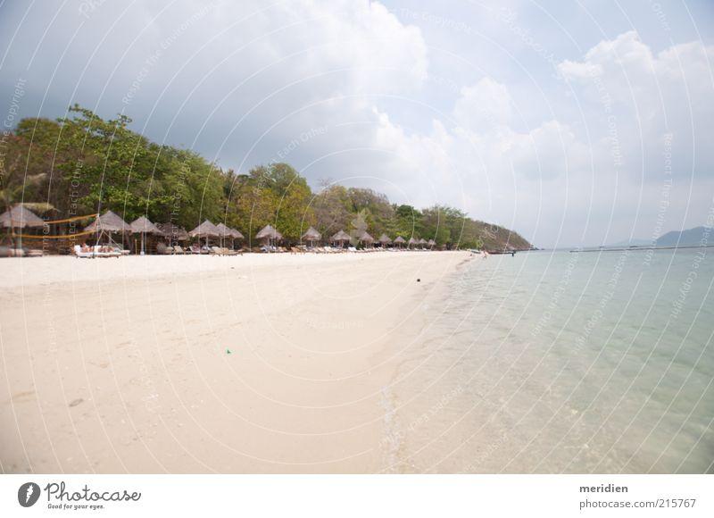Himmel Natur Wasser schön Strand Landschaft Sand Wärme Insel außergewöhnlich