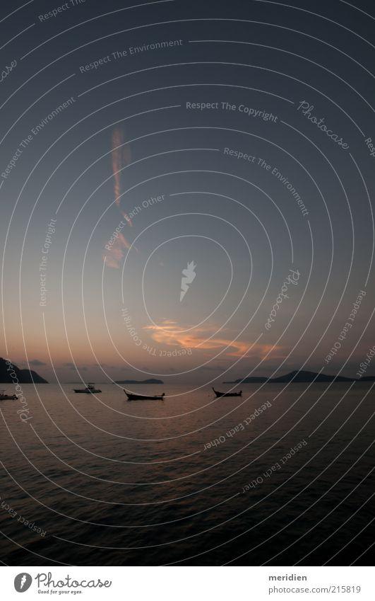 Himmel Natur Wasser Ferien & Urlaub & Reisen Meer Strand Erholung Landschaft Freiheit Glück Stimmung Horizont Zufriedenheit Wachstum Wunsch Frieden