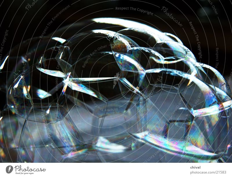 Seifenblasen 3 Wasser Farbe Regenbogen Gefängniszelle Oberflächenspannung