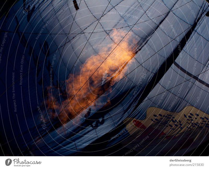 aufgepustet 2 ruhig Wärme Feuer Schnur Ziel heiß Ballone Flamme Bildausschnitt Feuerschein