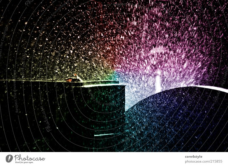 1000 Wasserperlen elegant Stil Freizeit & Hobby Kunst Flüssigkeit frei frisch nass Geschwindigkeit Kreativität spritzen Tropfen Strahlung Blatt Farbfoto