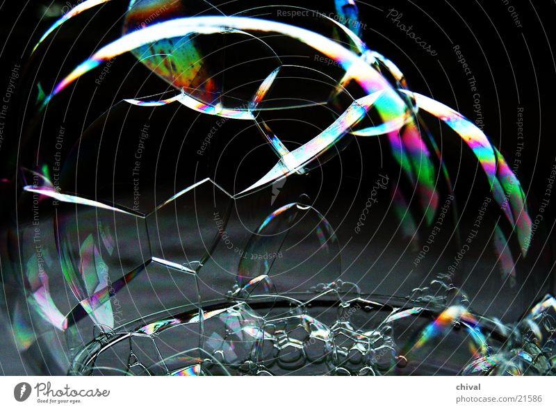 Seifenblasen 5 Wasser Farbe Regenbogen