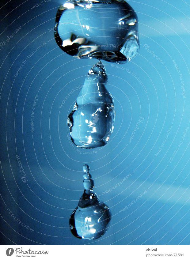 Wasserskulptur 3 Wassertropfen Bruch
