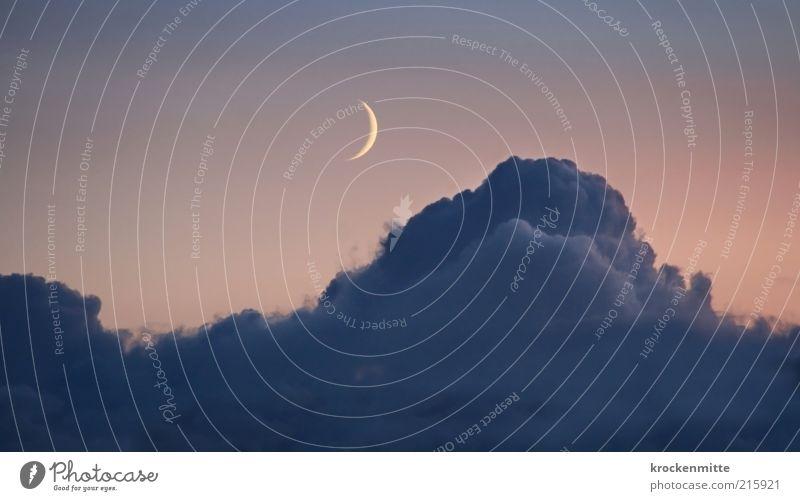 D R E A M W O R K S Himmel Wolken Gefühle Beleuchtung schlafen Idylle Mond Nachthimmel Verlauf Nacht traumhaft Kumulus Himmelskörper & Weltall Mondschein Nachtruhe Mondsüchtig