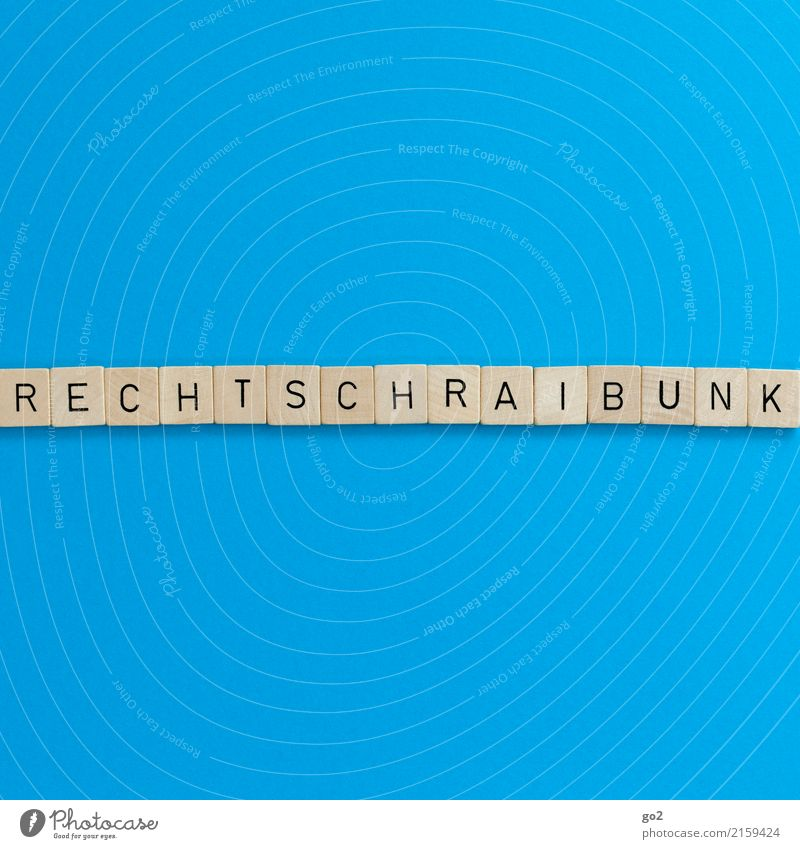 Rechtschraibunk Kind blau lustig Spielen Schule Freizeit & Hobby Schriftzeichen Kommunizieren lernen Studium schreiben Bildung Erwachsenenbildung Kindergarten