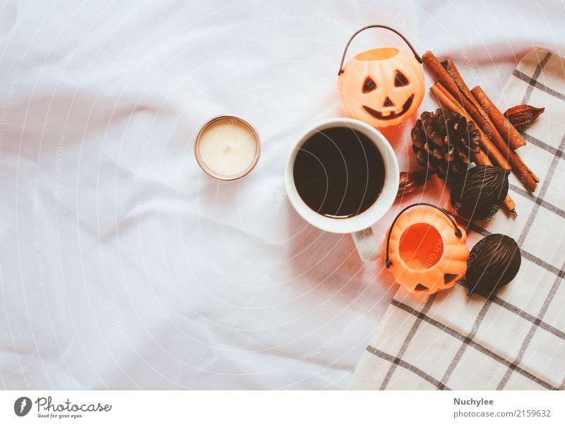 Herbst und Thanksgiving Arrangement Stil weiß Wärme Lifestyle Kunst Design modern Dekoration & Verzierung Ordnung Aussicht Kreativität Kräuter & Gewürze Kaffee