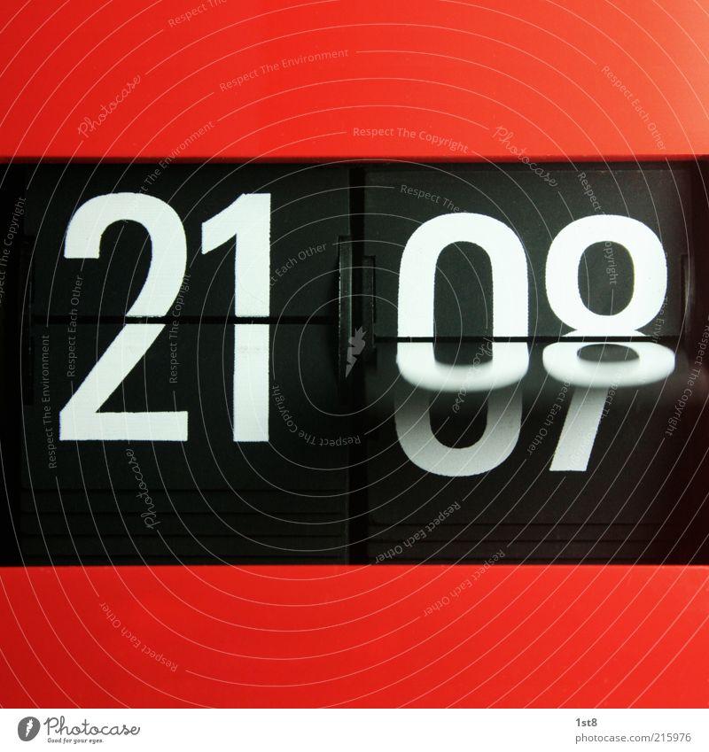 it's time... Uhr Fortschritt Zukunft High-Tech Industrie alt warten elegant trendy Geschwindigkeit schön Wecker Klappe funktionieren 21 08 orange Abend