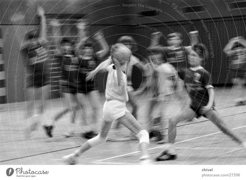 Handball 1 Jugendliche Sport Sportmannschaft Block Defensive Angriff