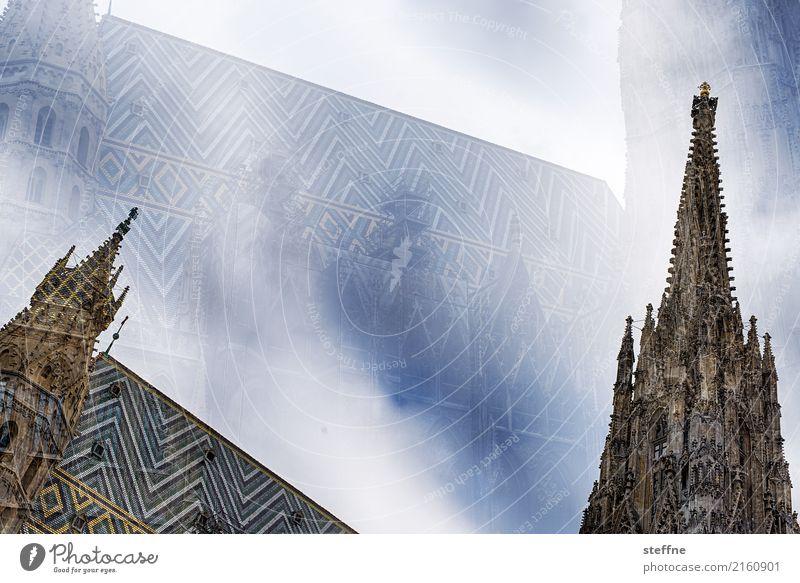 Around the World: Wien Reisefotografie Tourismus Ferien & Urlaub & Reisen Rundreise around the world steffne Stephansdom Doppelbelichtung