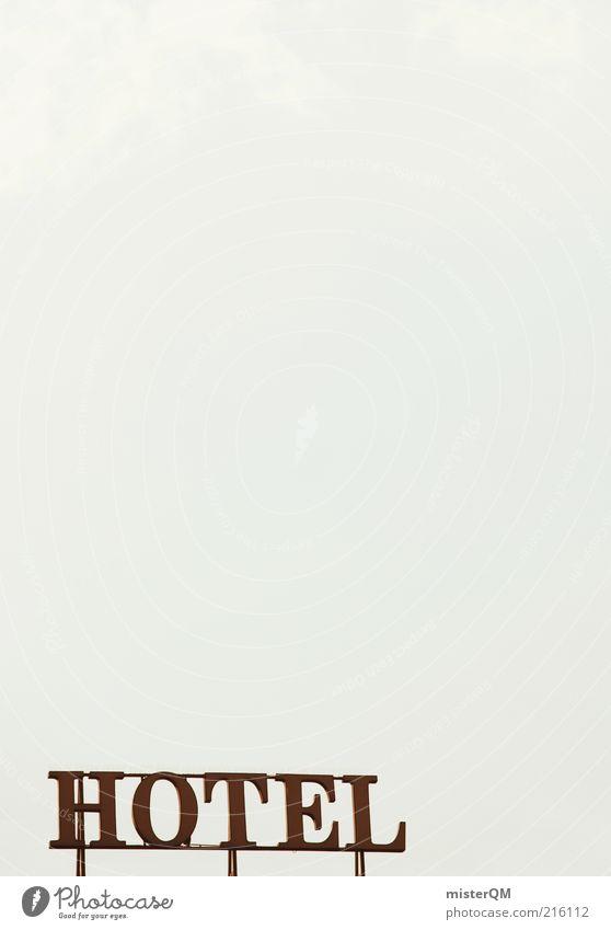 H.O.T.E.L. Himmel rot Ferien & Urlaub & Reisen Schilder & Markierungen groß Tourismus ästhetisch Schriftzeichen Buchstaben Hotel Werbung Symbole & Metaphern Wort Surrealismus hässlich Text