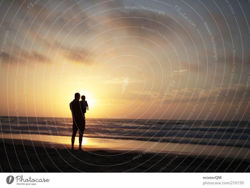 Generations. Mensch Kind schön Meer Sommer Strand ruhig Erholung Baby Zusammensein Hoffnung ästhetisch Familie & Verwandtschaft Zukunft Romantik Frieden