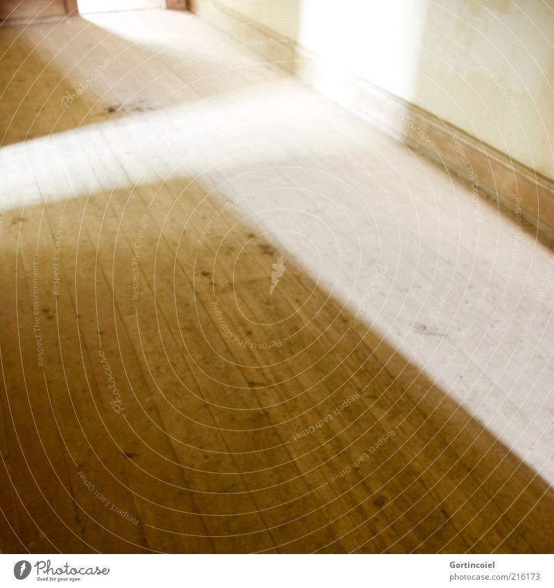 Lichtflut hell Raum Hintergrundbild leer Boden Geometrie Flur graphisch Bildausschnitt Holzfußboden Lichteinfall Lichtschein Dielenboden